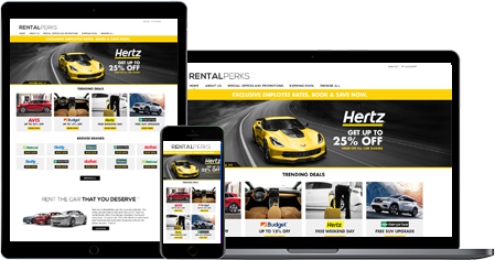 Online Employee Car Rental